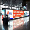 Train Station Advertising Display with Pedestal Free Standing Super Large LED Light Box