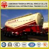 Powder Tanker Semi-Trailer for Dry Bulk Cement Transport