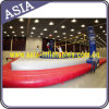Indoor Inflatable Triangle Structure Bossaball Court