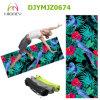 2017 Full Color Printed Microfiber Suede Natural Rubber Yoga Mat Custom Logo