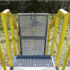 High strength FRP grating for railway access