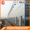 Agricultuer Galvanized Steel Frame Venlo Glass Greenhouse