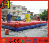 Inflatable Bungee Run with Basketball Hoops