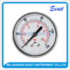 Central Back Entry Pressure Gauge-Brass Body Manometer-Normal Use Pressure Gauge