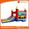 PVC Tarpaulin Inflatable Jumping Bouncy Castle with Slide (T3-204)