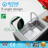 Hot Sale Single Sink 304 Stainless Steel Sink