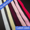 Garment Accessories Picot Bulk Spandex Elastic Bra Band, Elastic for Underwear