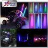 Fiber Optic LED Safety Flag LED Whips, RGB Bluetooth Control 4FT 5FT 6FT Red Blue Orange Green White LED Whip for ATV UTV