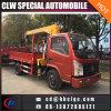 3ton Truck Lorry Crane Truck Articulated Boom Mounted Truck Crane