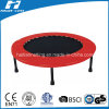 Foldable Mini Trampoline with Red Frame Pad