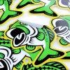 High Quality Custom Art Paper Glass Die Cut Stickers Customize Die Cut Logo Stickers