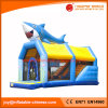 Inflatable Jumping Sea World Shark Bouncer with Slide Combo (T3-501)