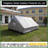 Heavy Duty Canvas Wall Waterproof 4 Season Refugee Camp Tent