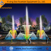 Full Color LED Lights Seafountain Design Music Dancing Fountain