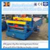 828 New Style Glazed Color Steel Roof Tile Roll Forming Machinery with Decoiler