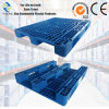 Aceally Warehouse Steel Reinforced Single Sided Plastic Pallet