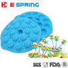 Wholesale 18 Cavity Round Shaped Silicone Lollipop Mold with Stick