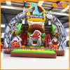 Beautiful Inflatable Standard Slide Stone Ages Slide for Kid (AQ01232)