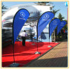 3.5m Teardrop Flying Banner, Outdoor Banner, Beach Flag