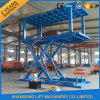 2 Level Type Portable Car Scissor Mobile Lift with Ce