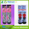 Polyester Cotton 360 Degree Seamless Sublimation Blank Printed Socks