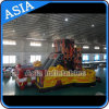Outdoor Inflatable Fire Truck Slide, Inflatable Dry Slide