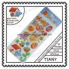 Diamond Glitter Fabric Puffy PVC Stickers with Arcylie Ty32