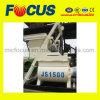 Construction Equipment Js1500 Electric Twin Shaft Concrete Mixer with Lift