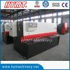 QC11Y-4X2500 hydraulic guillotine shearing machine metal cutting machine
