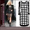 Plus Size Hollow Kim Kardashian Style Celebrity Evening Dress (4515)