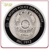 Soft Enamel Custom Antique Silver Souvenir Coin
