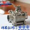 Low Price 3PC Floating Welded Ball Valve
