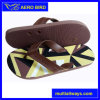 Colorful Print PE Men Sandal with Five Buttons