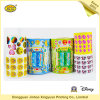 Lovely Sticker Label PVC Self Adhesive Stickers