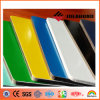PVDF Coated Green Yellow Blue Aluminum Composite Panel