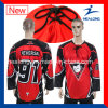 Healong Top Selling Sublimation League Match Ice Hockey Jersey