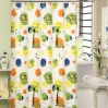 Printed Beautiful Satin Shower Curtain