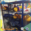 Commercial Secure Wire Mesh Rolling Storage Cage with Wheels