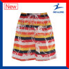 Healong Wholesale Customized Dye Sublimation Printing Beach Shorts
