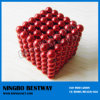 Red Colorful Neocube /Buckyball