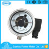 2.5 Inch Electric Contact Pressure Gauge MPa 1 Bottom Connection PT1/4