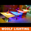 Modern LED Rectangle Rotating Coffee Tables