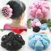 Pretty Girl Hair Net Ballet Dance Skating Hair Bow (head-116)