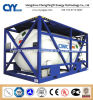 High Pressure Cryogenic Liquid Oxygen Nitrogen Argon ISO Tank Container