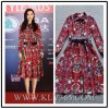 Hot Sale Design Fashion Party Women Print Dress