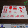 Custom Electronic Equipment Colorful Chemical Resistant Sticky Notice PVC Stickers
