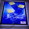 Black Frame LED Magnetic Light Box Light Box Pictures Edge Lit Acrylic Sign