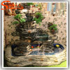 2015 Unique Style Plastic Fake Artificial Decoration Waterfall Fountain Rockery