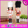 2015 Funny Christmas Gift Toy, Lowest Price Wooden Christmas Gift Nutcracker Toy, Promotional Gift Toy Christmas Gift Toy W02A050