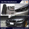 Self-Adhesive Black Color Car Headlight Film Car Tint Vinyl Films 30cmx9m